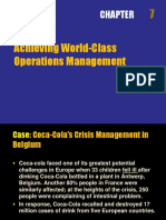 Chapter 7 Class Operations Management
