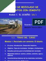 MODULO 1-1 a 3 El Curso, Tipos de Reciclados, Ventajas, Campos de Aplicación y Estudios Previos 1