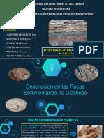 Descripcion de Las Rocas Siliceas; Ferruginosas, Fosfaticas y Organicas