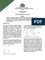 Nitracion de Benzoato de Metilo
