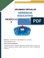 Guia Didactica Módulo 5 Gerencia Educativa