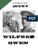 Tonys Owen Poetry Booklet