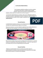 Las Escuelas Administrativas Karol Delgado.docx