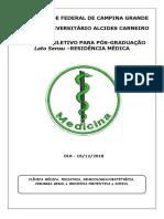 Clinica Mрdica, Pediatria, Ginecologia Obstetricia Cirurgia Geral e Medicina Preventiva e Social