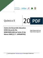 03 D. B. - Quimica II