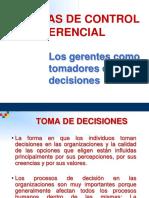 Los Gerentes Tomadores de Decisiones 123