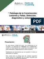 Patología Módulo I - Unidad 1- 2018