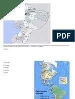 Dentro de Las Posibles Rutas de Contacto de Las Sociedades de La Andinoamerica Ecuatorial Con Mesoamerica y El Actual País Bolivia Encontramos Recorridos Comerciales a Través Lo Ríos