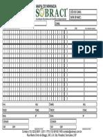 Formulario Mapa de Ninhada 2016