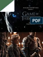 Digital Booklet - Game of Thrones (Season 7)