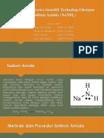 Sintesis Senyawa Sensitif Terhadap Oksigen
