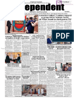Daily Independent Quetta - 27 May 2019
