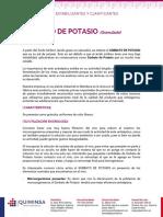 Sorbato de Potasio1