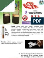 Power Point DINKES Rokok Ancaman Besar Yg Terabaikaan