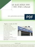 SAT FAP RAT NTEP PPP CBO LTCAT FAE esocial.pdf