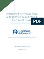 Practica No. 1_propuesta de Proyecto de Mitigación