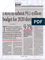 Business Mirror, May 27, 2019, DBM to submit 4;1-trillion budget for 2020 suring Sona 9.1%.pdf