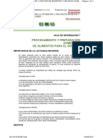 HOJA DE INFORMACIÓN FAO 7