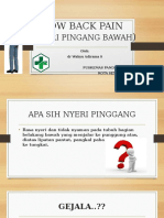 Low Back Pain Ppt
