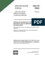 ISO-TS-9002-2016 (es)