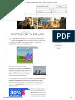 Definición de Contaminación Del Aire - Qué Es, Significado y Concepto