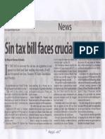 Manila Standard, May 27, 2019, Sin tax bill faces crucial week.pdf