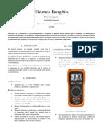 Informe de Laboratorio proceso industriales