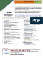 E- Brochure 2019 SAMS CONSULTANT & ASSOCIATES