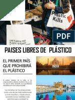 PAISES LIBRES DE  PLÁSTICO 1.pptx