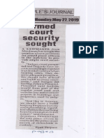 Peoples Journal, May 27, 2019 Armed court security sought.pdf