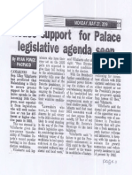 Peoples Tonight, May 27, 2019, House support for Palace legislative agenda seen.pdf