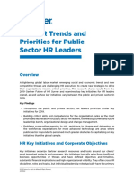2019 HR Trends and Priorities for Public Sector HR Leaders