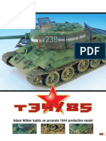 AFV Modeller - Issue 11 - 5 - T34-85