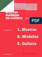 Nuevos modelos de cultura