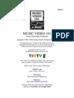 Music Video 101