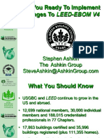 Are You Ready to Implement LEED V4