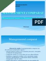 Management Comparat