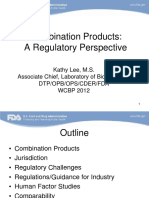 Combination Products Regulatory Perspective
