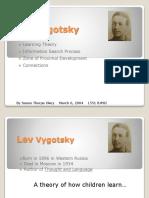 ZPD and Vygotsky