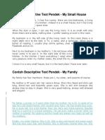 Contoh Descriptive Text Pendek