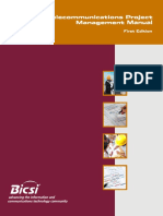 Telecomm Project Management Manual