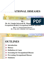 Lecture 8-Occupational Diseases-Dr. Dr. Lientje Setyawati K Maurits, MS, SpOk (RSA) (2019)