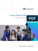 EL 1 Service Delivery Officer CIK FINAL V2
