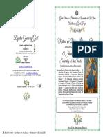 2019-15 June-matlit -Saturday of the Souls - Pentecost