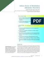 IEM Metabolic Disorders