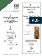 2019-16 June - 8 Pascha - Matlit Hymns - Pentecost