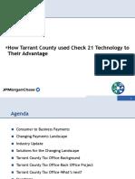 2008 Tarrant County Check21 JPMorgan