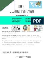 Bab 3. Cultural Evolution