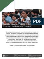 Media Developments Role in Social Economic and Political Progress Literature Review (1)