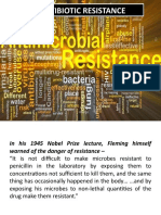 Antibiotic Resistence